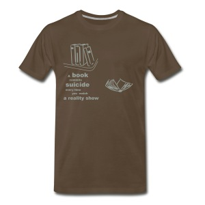 book - Men's Premium T-Shirt