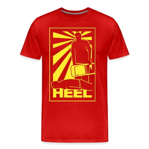 Heel Propaganda (Men 3XL-4XL) - Men's Premium T-Shirt