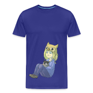 T-Shirts ~ Men's Premium T-Shirt ~ Mens: Cuddles