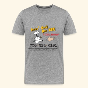 Jones Good Ass T-shirt - Obama's Hair Grey - Men's Premium T-Shirt