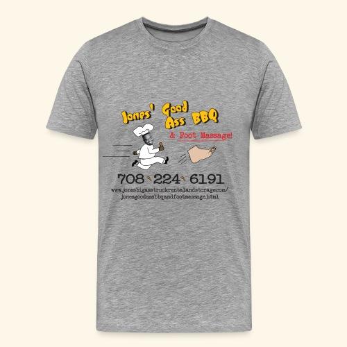 Jones Good Ass T-shirt - Obama's Hair Grey - Men's Premium T-Shirt