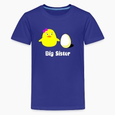 big sister chick Kids' Shirts