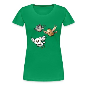 Ladies: Mr Owl & Co - Women's Premium T-Shirt