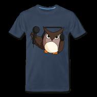 T-Shirts ~ Men's Premium T-Shirt ~ Mens: DJ Owl