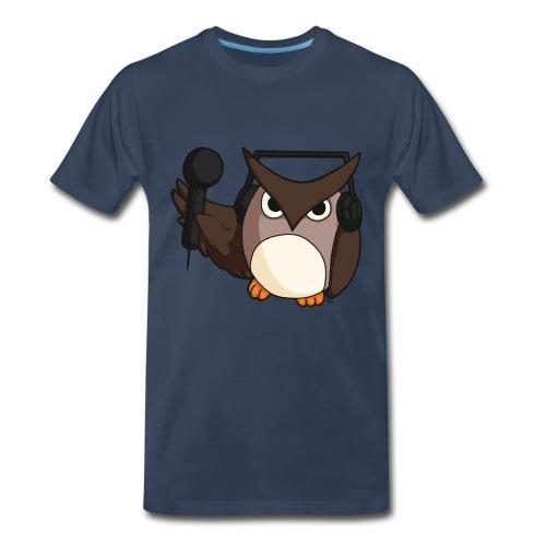 Mens: DJ Owl - Men's Premium T-Shirt