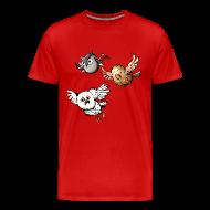 T-Shirts ~ Men's Premium T-Shirt ~ Mens: Mr Owl & Co