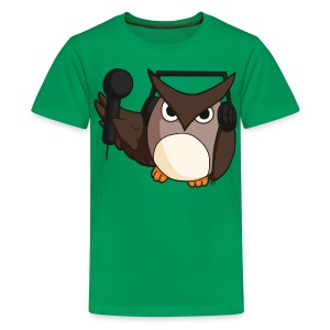 Kids: DJ Owl - Kids' Premium T-Shirt