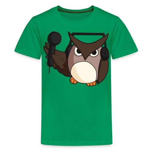 Kids: DJ Owl - Kids' Premium T-Shirt
