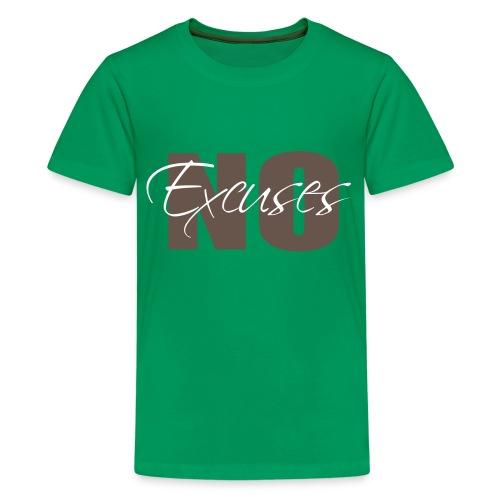 No Excuses Kid's Classic T-Shirt - Kids' Premium T-Shirt