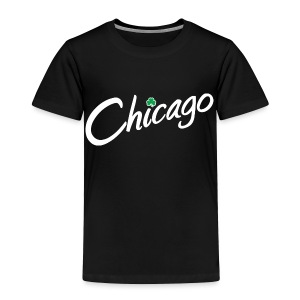 Chicago with a Shamrock - Toddler Premium T-Shirt