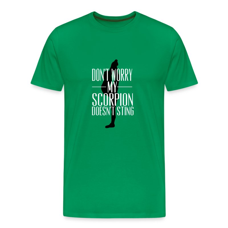 Don't worry, my scorpion doesn't sting T shirt - Men's Premium T-Shirt
