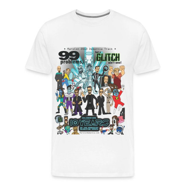 Men's Marscon 2013 white t-shirt