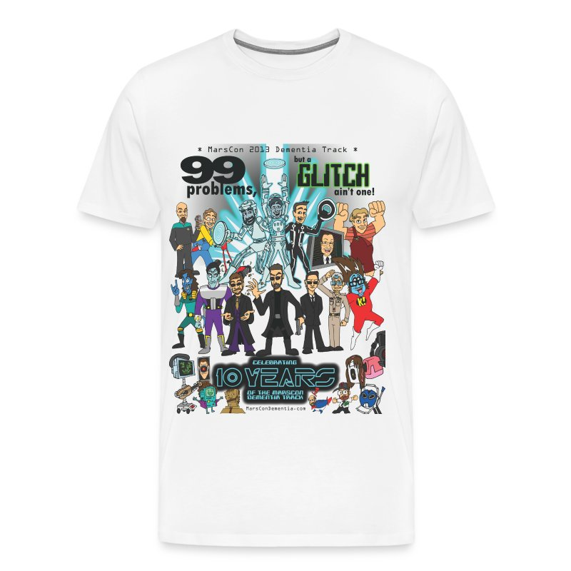 Men's Marscon 2013 white t-shirt 3 and 4 X - Men's Premium T-Shirt
