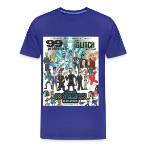 Men's Marscon 2013 blue t-shirt 3 and 4 X - Men's Premium T-Shirt
