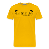 T-Shirts ~ Men's Premium T-Shirt ~ Rest Your Legs - Mens T Shirt