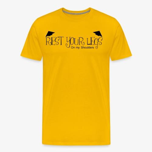 Rest Your Legs - Mens T Shirt - Men's Premium T-Shirt