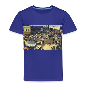 Maxwell Street Postcard, Early 1900's - Toddler Premium T-Shirt