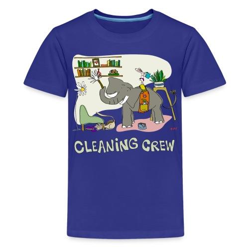Women's Tee   Cleaning Crew - Kids' Premium T-Shirt