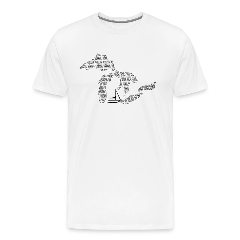 great lakes - Men's Premium T-Shirt