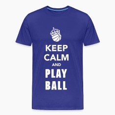 Keep Calm and Play Basketball T-Shirts