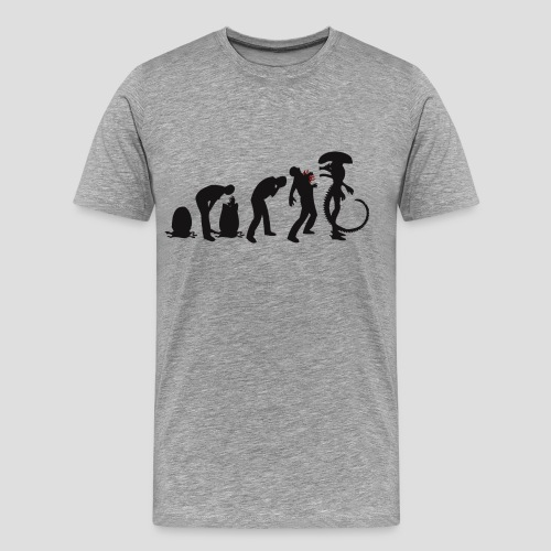 Alien Evolution - Men's Premium T-Shirt
