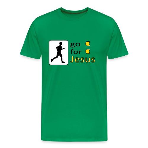 Go For Jesus - Men's Premium T-Shirt