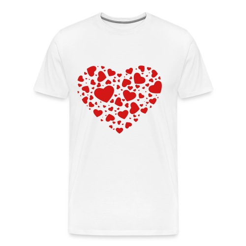 Hearts - Men's Premium T-Shirt