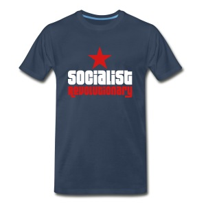 Socialist Revolutionary 3/4XL Tee (click for more colors) - Men's Premium T-Shirt