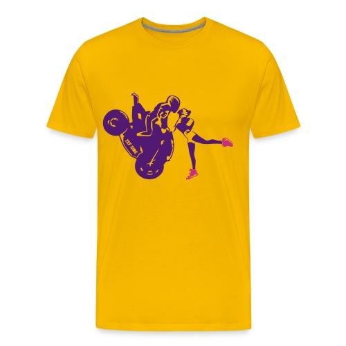 Yo-landi bad boy kiss 7 - Men's Premium T-Shirt