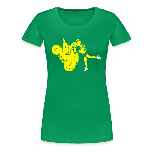 Yo-landi bad boy kiss 2 - Women's Premium T-Shirt