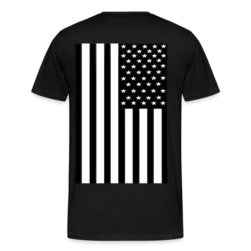 flag (back only) - Men's Premium T-Shirt
