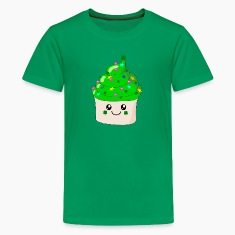 St Patrick's Day Cute Cupcake Kids' Shirts