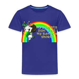 Didn't Cut My Rainbow Short - Toddler Premium T-Shirt