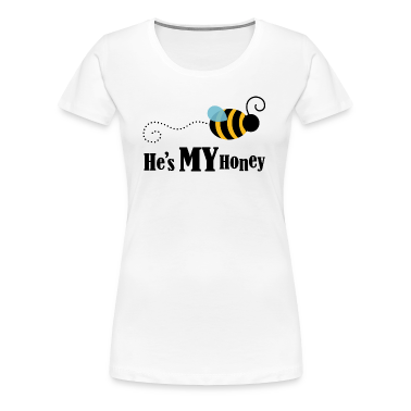 He's My Honey Couples Matching Womens T-shirt | Co