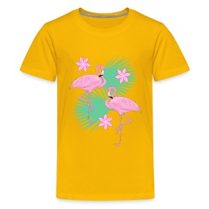 flamingos kid's tshirt - Kids' Premium T-Shirt