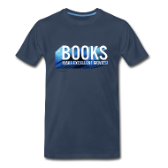 T-Shirts ~ Men's Premium T-Shirt ~ Books Make Excellent Movies!