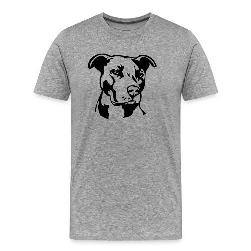 Pitbull Dog - Men's Premium T-Shirt