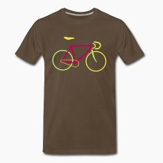 Fixed Gear Bike - Bicycle T-Shirts