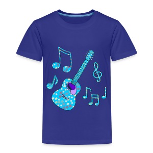 stars and guitar toddler tshirt - Toddler Premium T-Shirt