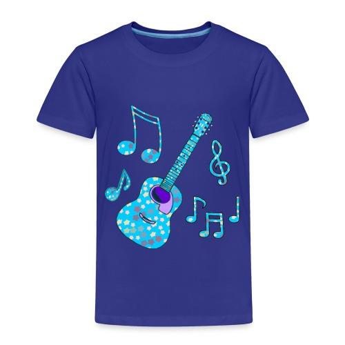 stars and guitar toddler tshirt - Toddler Premium T-Shirt