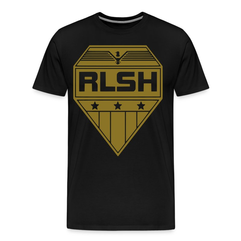 RLSH Official Badge Adult sizes 3X-4X - Men's Premium T-Shirt