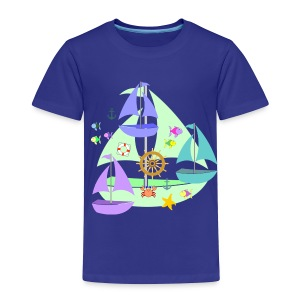 sailboats toddler tshirt - Toddler Premium T-Shirt