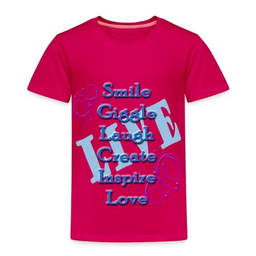Live tshirt - Toddler Premium T-Shirt