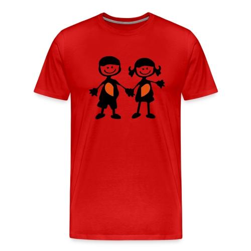 Cute Couple - Men's Premium T-Shirt
