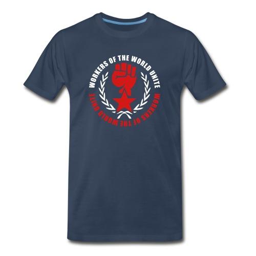 Marxist Fist 3/4XL Tee (click for more colors) - Men's Premium T-Shirt