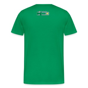 The Slashing Hero - Men's Premium T-Shirt