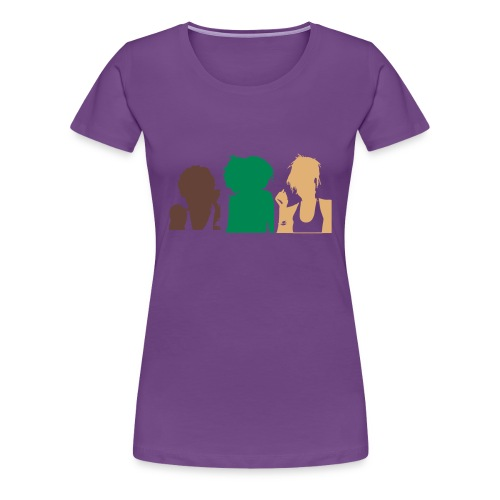 Natural Hair Community - Women's Premium T-Shirt