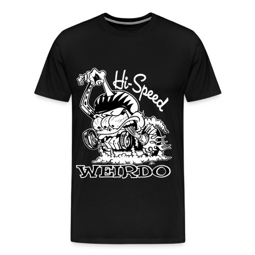 3 & 4 XL Hi-Speed Weirdo - Men's Premium T-Shirt