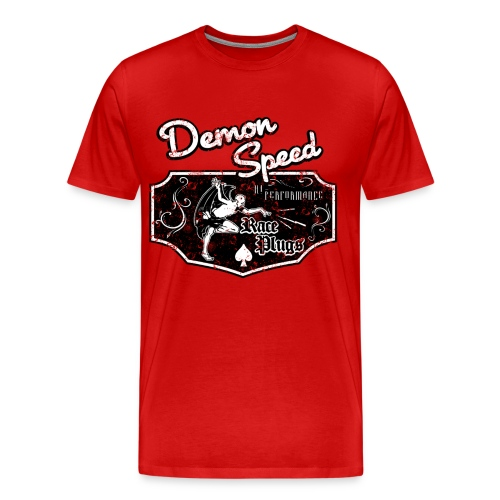 3 & 4 XL Demon Speed - Men's Premium T-Shirt