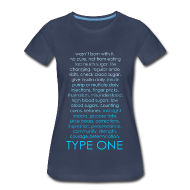 Women's T-Shirts ~ Women's Premium T-Shirt ~ The Inspire Collection - Type One